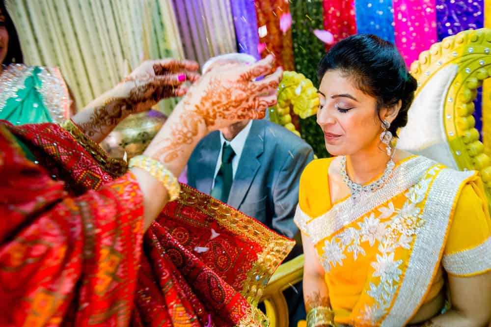 An indian wedding in Nottinghamshire