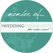 The wedding community logo