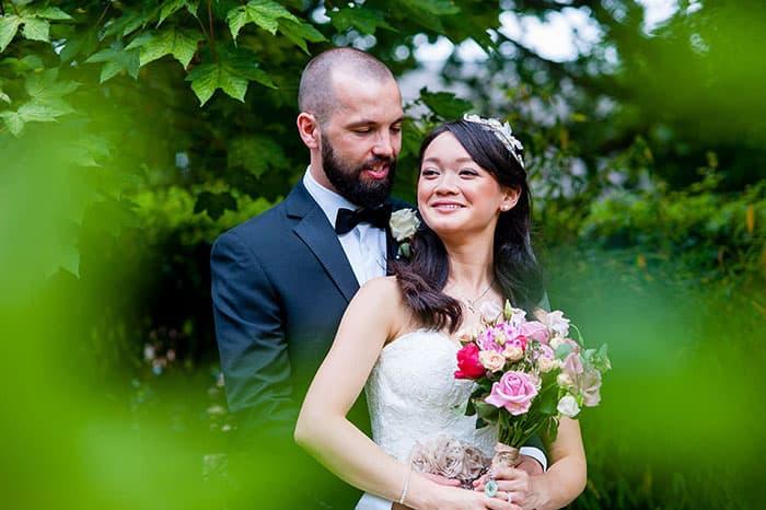 Wedding photographer in Nottingham