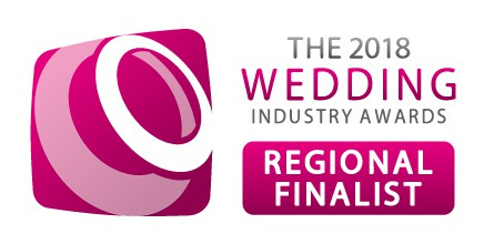 2018 Wedding Industry awards, Regional finalist badge