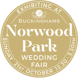 A Norwood Park Wedding photographer Badge